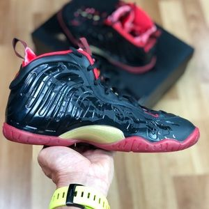 NEW Nike Little Posite One QS (GS) (846077-003)
